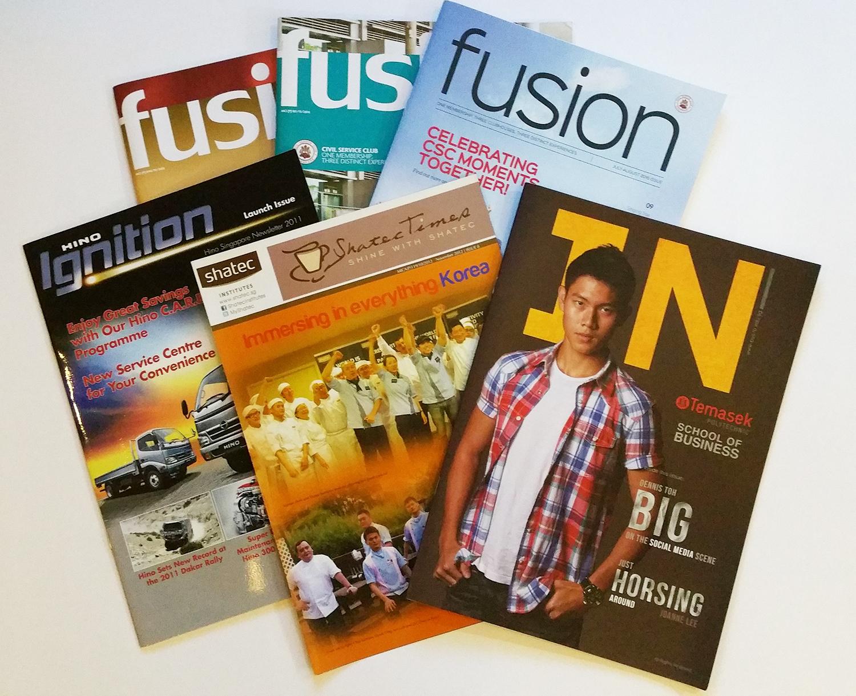 Portfolio - Newsletters & Magazines